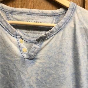 Lucky Brand Shirts - Lucky Brand Short Sleeve Henley T-shirt 🍀